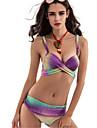 Femei Bikini Femei Bustieră Monocolor Polyester
