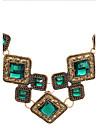 Colier Luxos La Modă Cu Pietre Semiprețioase