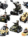 Sluban Building Blocks Military Blocks Construction Set Toys 928 pcs Military Tank Soldier compatible Legoing Creative Cool Classic & Timeless Chic & Modern Cartoon Boys\' Girls\' Toy Gift