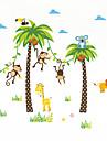 Animale Botanic Peisaj Perete Postituri Autocolante perete plane Autocolante de Perete Decorative,Vinil Material Pagina de decorarede