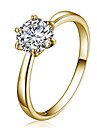 Pentru femei Cristal Cristal Zirconiu Zirconiu Cubic Cristal Austriac Diamante Artificiale Aliaj Αστέρι Inel - Αστέρι Modă stil minimalist