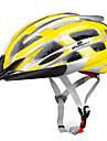 KUYOU Casco de bicicleta 24 Ventoleras EPS ordenador personal Deportes Bicicleta de Montana Ciclismo de Pista Senderismo - Amarillo Azul cielo Rojo Unisex