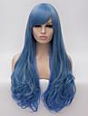 Парики из искусственных волос / Маскарадные парики Естественные волны Искусственные волосы Парик Жен. Длинные Без шапочки-основы