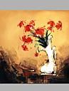 Peint a la main Paysage A fleurs/Botanique Panoramique Horizontale,Moderne Classique Un Panneau Toile Peinture a l\'huile Hang-peint For