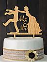 Sütemény tartozékok Fa / Vegyes anyag Esküvői dekoráció Születésnap / Menyegző Klasszikus téma Tavasz / Nyár / Ősz