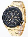 Bărbați Ceas Sport Ceas Elegant Ceas La Modă Ceas de Mână Quartz Mare Dial Aliaj Bandă Charm Multicolor Alb Negru Albastru