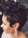شعر مستعار طبيعي مجعد كلاسيكي جودة عالية مصنوع بالماكينة شعر مستعار يوميا