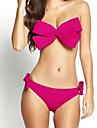 Femei Bikini Femei Cu Bretele Solid Polyester