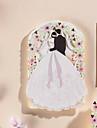 Pliat lateral Invitatii de nunta-Felicitări de mulțumire Cărți de răspuns Exemple de Invitații Felicitări pentru Ziua Onomastică