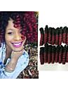 Virkad Bouncy Curl 100% kanekalon hår 100% kanekalon hår twist Flätor Hårflätor