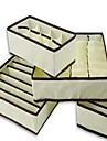4ks domácí úložný box koše spodní prádlo organizér box podprsenka kravata ponožky úložiště organizátor