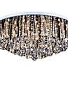 9-Light Montaj Flush Lumini Ambientale - Cristal, Stil Minimalist, 110-120V / 220-240V Becul nu este inclus / 20-30㎡ / E12 / E14