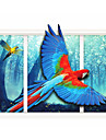 Animale Perete Postituri Autocolante perete plane 3D Acțibilduri de Perete Autocolante de Perete Decorative,Hârtie MaterialPagina de