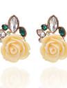 Dame Cercei Stud Cristal Stil Floral Flori Floral Cristal Aliaj Flower Shape Geometric Shape Bijuterii Pentru Petrecere Zilnic Casual