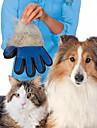 1 st djurhälsningshandskar handsken höljer hår sticka gör husdjur hår rengöring