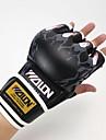 Boxningshandskar Träningshandskar till boxning för Boxing Fingerlösa Anatomisk design Andningsfunktion Skyddande Läder