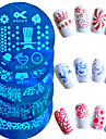 1pcs Redaktionell Verktyg och tillbehör / Målartillbehör / Verktyg och tillbehör Stilig / Professionel / Mönstrad Nail Art Design