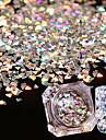 1box Glitter & Poudre Glitters / Mode Dagligen Nail Art Design