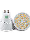 YWXLIGHT® 7W 500-700 lm GU10 LED-spotlights 72 lysdioder SMD 2835 Dekorativ Varmvit Kallvit Naturlig vit AC 110-220
