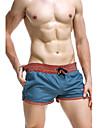 Bărbați de joasă înălțime inelastic chinos pantaloni pantaloni simplă subțire solide