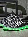 Băieți Pantofi Materiale Personalizate Primăvară Toamnă Pantofi Usori Adidași Dantelă Nasture pentru De Atletism Casual În aer liber Gri
