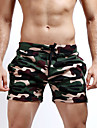 Bărbați Activ Militar Șic Stradă Bumbac Drept Zvelt Pantaloni Scurți Pantaloni camuflaj