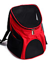 Cat Dog Carrier & Travel Backpack Pet Carrier Portable Breathable Solid Brown Red Blue Black