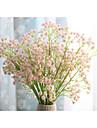 1 ramură Mătase Respirație Copil Față de masă flori Flori artificiale