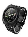 G6 mtk2502 ultra-subțire ips ecran rata de pas ritmul cardiac de monitorizare curea de metal bluetooth smartwatch pentru Android&ios