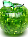 Puzzle 3D Puzzle Crystal Apple Distracție Plastic Clasic Pentru copii Unisex Cadou