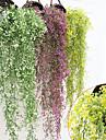 Flori artificiale 1 ramură Pastoral Stil Plante Cosul de flori