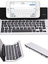 F18 portabile ultra subțire pliabil aliaj de aluminiu bluetooth 3.0 tastatură fără fir pentru telefonul mobil Tablet PC