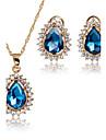 Pentru femei Seturi de bijuterii Pandative Seturi de bijuterii de mireasă Zirconiu Cubic Clasic Vintage Modă Adorabil Euramerican stil