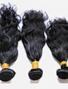 Peruanskt hår Naturligt vågigt Hårförlängning av äkta hår 3 0.15