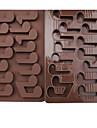 1 Piece Moule de Cuisson Cartoon 3D Pour glace For Chocolate Pour Bonbons Bourgeonnant Silikon Anniversaire Vacances