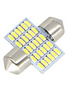 2x-festoon-31mm-30-smd-3014-vitleds-car-dome-lampa-lampor-3021-6428-de3175 12-24v