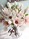 15inch 1 gren silke magnolia konstgjorda blommor hem dekoration