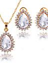 Pentru femei Seturi de bijuterii Coliere cu Pandativ Seturi de bijuterii de mireasă Zirconiu Cubic La modă Euramerican ClasicZirconiu