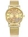 Pentru femei Ceas Elegant  Ceas La Modă Japoneză Quartz Ceas Casual Aliaj Bandă Charm Casual Elegant Argint Auriu