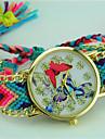 Pentru femei Ceas Brățară Quartz Material Bandă Fluture Boem Multicolor