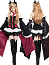 Inspired by Seraph of the End Krul Tepes Anime Cosplay Costumes Cosplay Suits / Dresses / Cosplay Tops / Bottoms Solid Color / Stitching Lace Dress / Sleeves / Corsets For Women\'s / Headwear