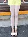Damă Zvelt Simplu Talie Medie,Înaltă Elasticitate Skinny Colanți Pantaloni Culoare pură Mată