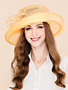 Tul Diadema-Nuntă Ocazie specială Informal Birou & carieră Pălării/Căciuli 1 Bucată