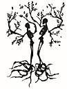 Botanic Desene Animate Vacanță Perete Postituri Autocolante perete plane Autocolante de Perete Decorative Material Pagina de decorarede