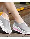 Damă Pantofi Tul Primăvară Confortabili Adidași Toc Drept Pentru Negru Gri Mov Fucsia