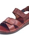Bărbați Pantofi Nappa Leather Primăvară / Vară Sandale Pantofi Upstream Negru / Cafea