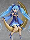 Anime Actionfigurer Inspirerad av Vocaloid Snow Miku pvc 15 CM Modell Leksaker Dockleksak Unisex