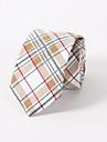 Cravată de flori de bumbac de imprimare de moda nunta skinny bărbați timp liber cravată