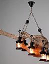 Retro Ministil Hängande lampor Fluorescerande Till Vardagsrum Inomhus Korridor 110-120V 220-240V Glödlampa inte inkluderad
