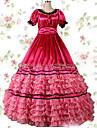 Une Piece/Robes Gothique Lolita Cosplay Vetrements Lolita Retro Mancheron Manches Courtes Ras du Sol Robe Pour Autre